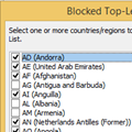 Add EU to the International Blocked TLD List