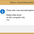Run all Outlook Rules on Startup
